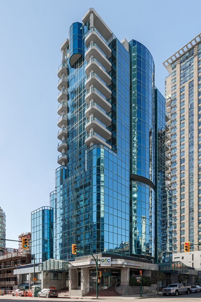 GEC Viva Towers student accommodation apartments in Downtown Vancouver are near Yaletown, Davie Street Village, Granville, Burrard, and Robson