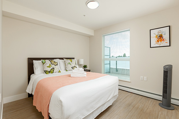 GEC Pearson premium apartments are fully furnished and include queen beds