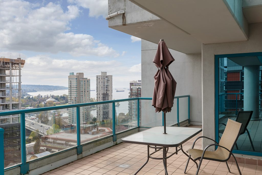GEC Viva student housing apartments has beautiful views of Downtown Vancouver fireworks, beaches, and mountains