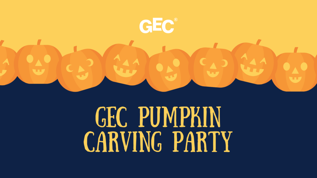 GEC Pumpkin Carving Party on October 15, 2020