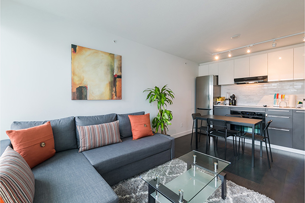 GEC Marine Gateway MC2 rental apartment for students on Cambie St in Vancouver