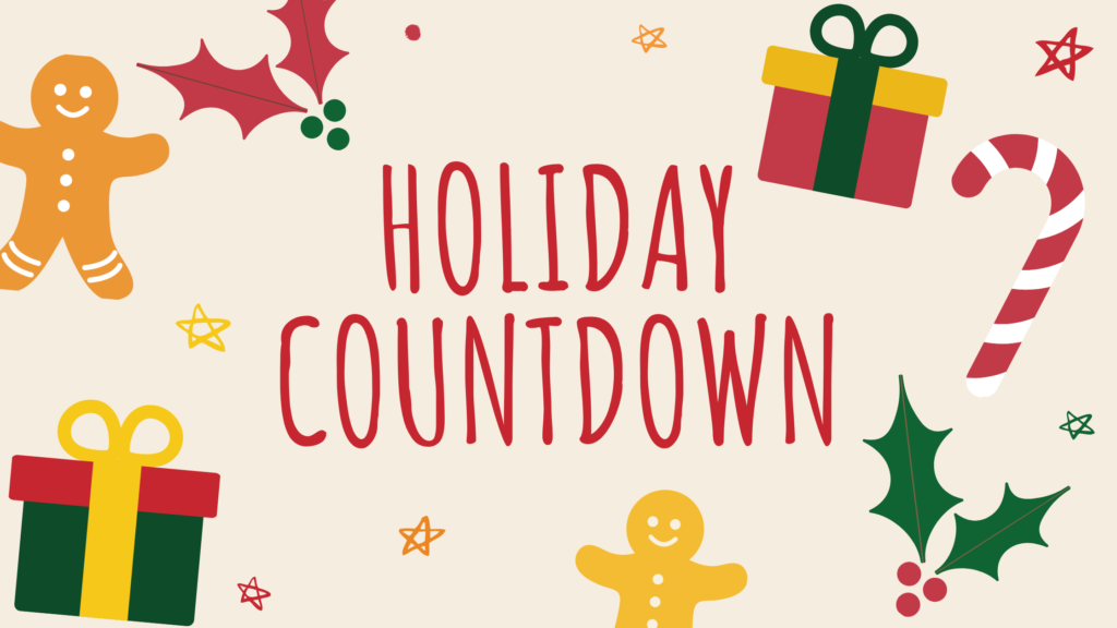 Holiday countdown at GEC