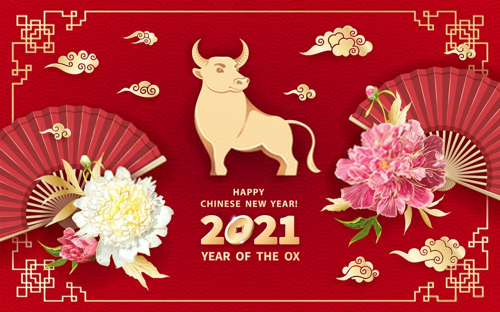 Happy Chinese New Year! 2021, Year of the Ox