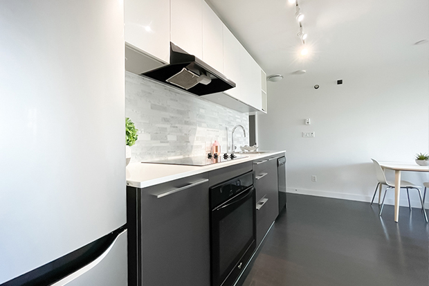 Kitchen in a private 1 bedroom apartment in GEC Marine Gateway