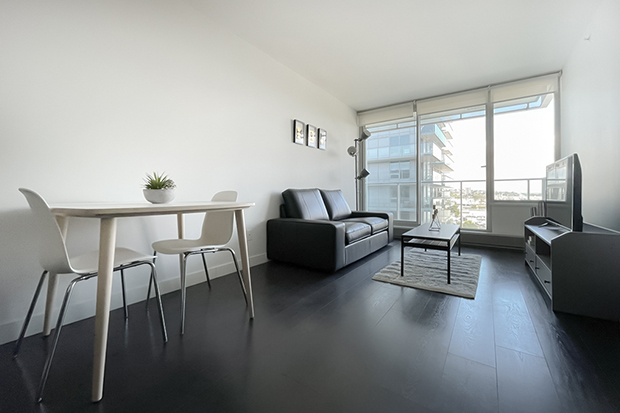 1 bedroom apartment at GEC Marine Gateway rentals in Vancouver on Cambie Street