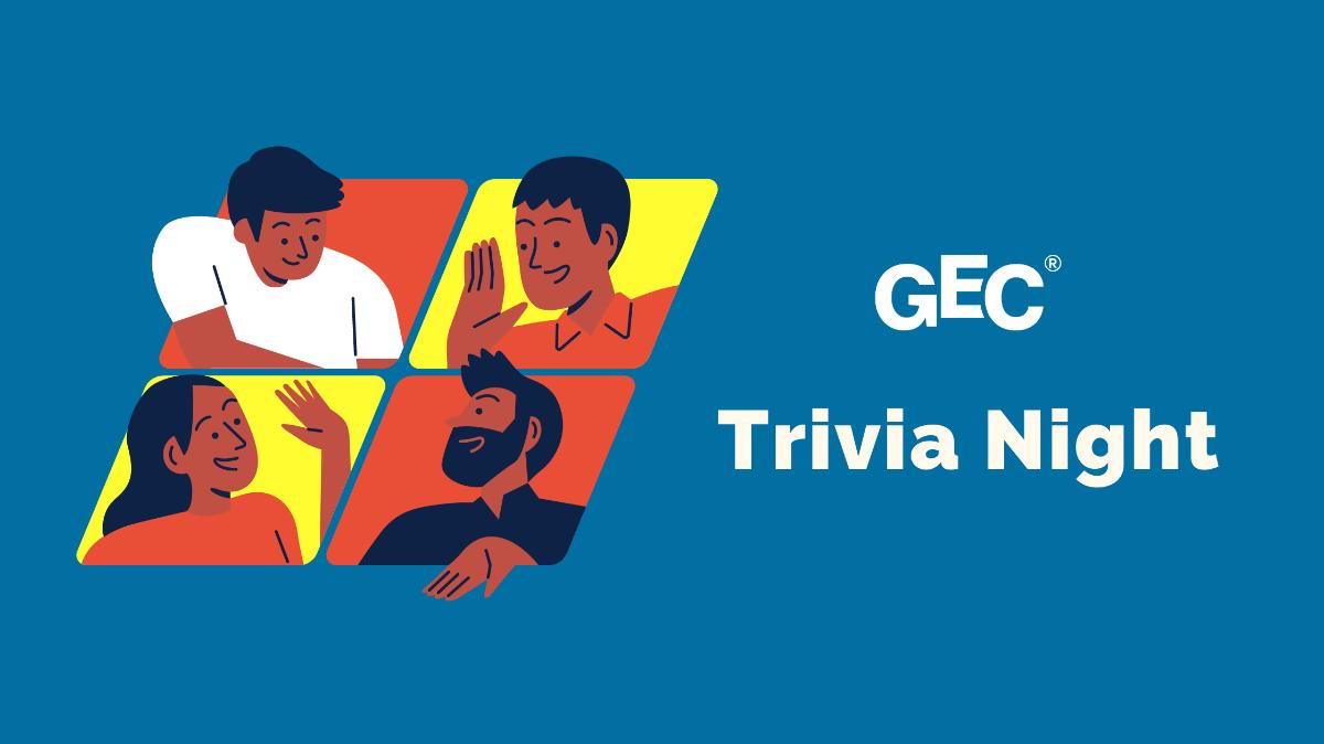 GEC Trivia Night on April 22, 2021