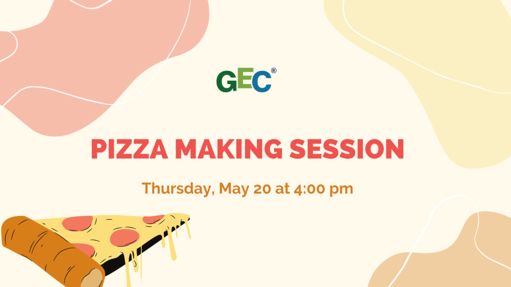 GEC Pizza Making Session