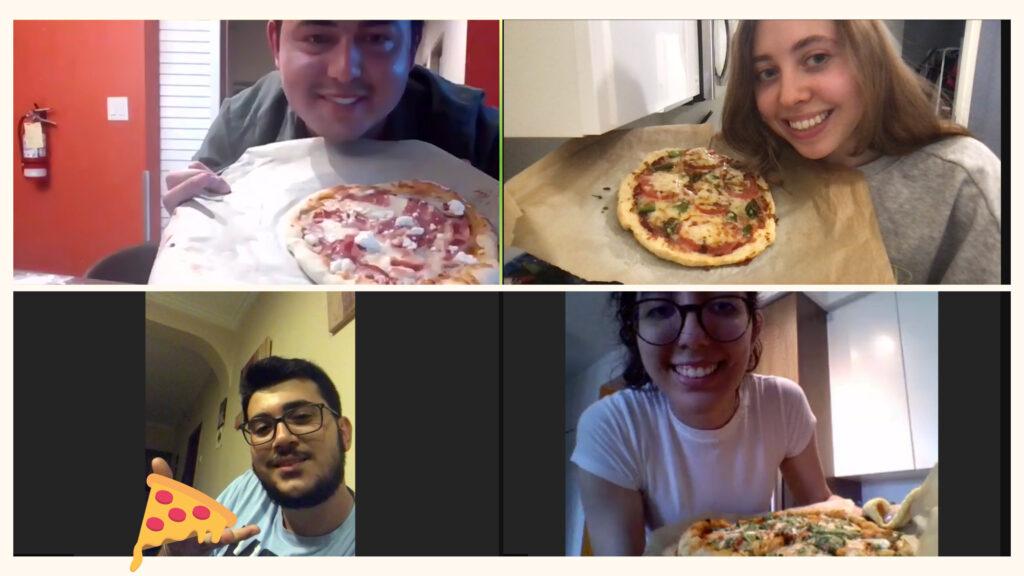 GEC pizza making session recap