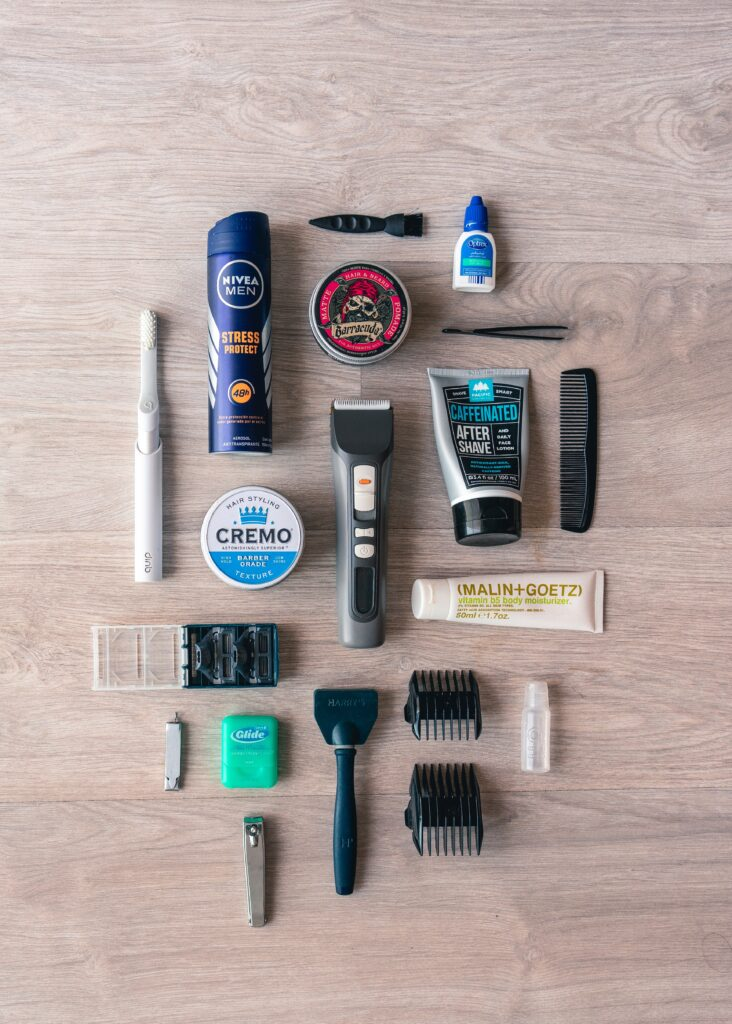 what to bring to canada for your first week. personal grooming items.
